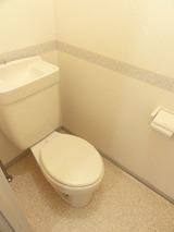 セジュールヴェル�・�・3DK・アパート・トイレ