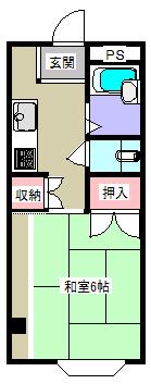 本町・ベルハウス・間取図