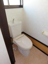 加瀬字十三塚・3K棟割貸家・トイレ