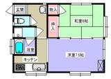 ドルフィン松島・2K・アパート・間取図