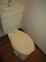 リバーハイツ八幡・3K・アパート・トイレ