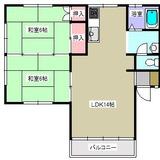ファミール袖野田201・アパート・2LDK・間取