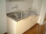 パークサイドB・1DK・アパート・キッチン