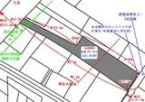 塩釜市新富町・181.97坪・売土地・地形図