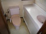 塩釜市新富町・大型4SLDK・中古住宅・2Fトイレ