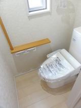 明月1丁目・4LDK・戸建貸家FJ・トイレ