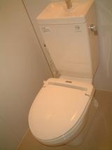 パークサイドB・1DK・アパート・トイレ