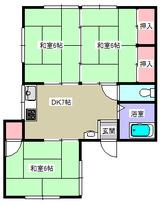 コーポ新和・3DK・アパート・間取図