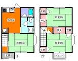 ハイツ石垣・メゾ3DK・アパート・間取図