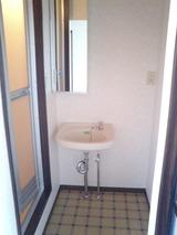 サンコーポ・3K・アパート・洗面