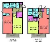 ステューディオ�・1LDK・アパート・間取図