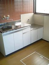 コーポスズキAB・3K・アパート・キッチン