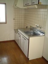 リバーハイツ八幡・3K・アパート・キッチン