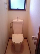 コーポおばた・3DK・アパート・トイレ