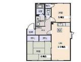 グリーンパーク�・�・2LDK・アパート・間取図
