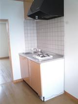 レジデンス玉川・小型犬可1K・アパート・キッチン1