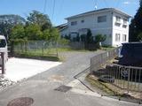 みのが丘・125坪・住宅用地・外観2(駐車場部分)