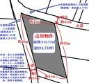 長沢町・94坪・住宅用地・地形図
