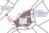 塩釜市梅の宮・建築不可91坪・売土地・地形図
