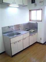 ムーンリットファウンテン・2K・アパート・キッチン
