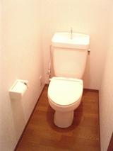 ウィングハウス・2LDK・アパート・トイレ