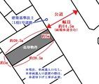 尾島町・34坪・売土地・地形図