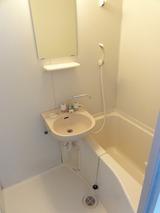 MJハイツ・1K+ロフト・アパート・洗面