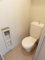 アステールアゴラー�・1LDK・アパート・トイレ