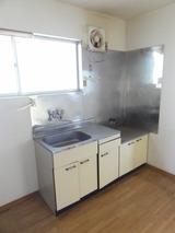 ベルポアン・2DK・アパート・キッチン