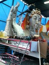 新庄祭り山車製作2