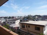朝日プラザ駅前通・4F-C・2DK・780・M・南側眺望1
