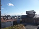 松島町磯崎字菱又・317坪・住宅用地・東側眺望