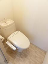 シティフローラル・2LDK・アパート・トイレ