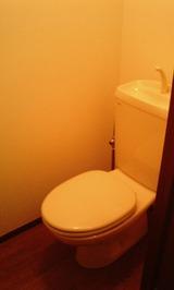 ピエスZen・1K・アパート・トイレ