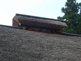 大内宿の屋根