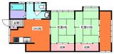 カマダ・インダス・2DK・アパート・間取図101号室