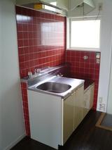 パルメゾンF1・1K・アパート・キッチン