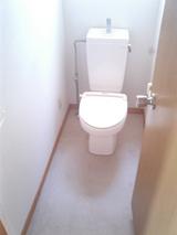 レジデンス玉川・小型犬可1K・アパート・トイレ