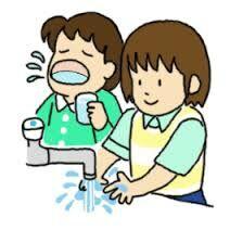 手洗いうがい画像