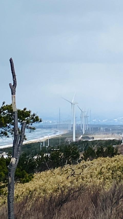 秋田県風力発電12