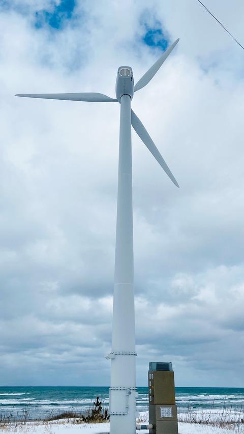 秋田県風力発電6