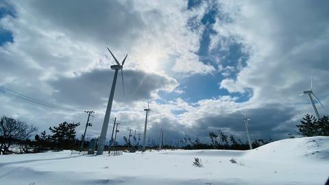 秋田県風力発電14