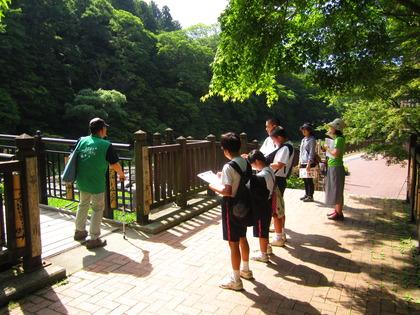 塩原温泉 『地元中学生のまちめぐりツアー』
