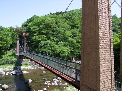 山ゆりの吊橋 (1)
