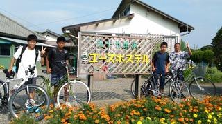 P_20180804_081900.jpg中学生自転車で