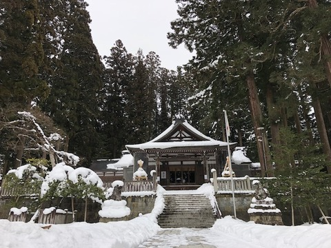 氣多若宮神社20180131