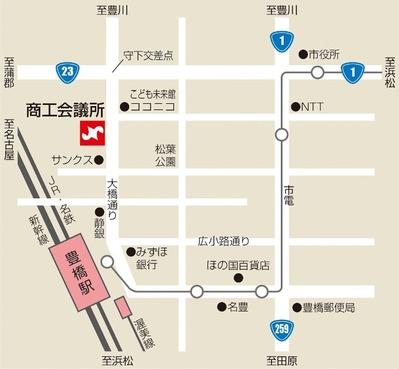 豊橋商工会議所map
