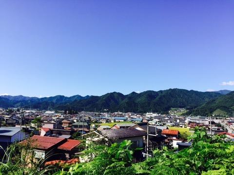 吉城高校下からの風景20170901