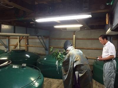 蔵醸造タンク