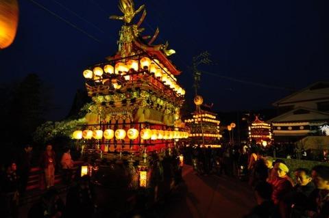 夜祭(観光サイト画像)